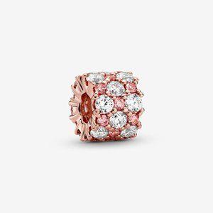 Pandora Pink & Clear Sparkle Charm